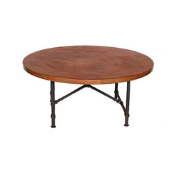 Mathews & Company - Burlington Coffee Table Base Only - This contemporary Burlington Coffee Table Base Only allows you to use your own table top such as granite, custom wood, stone, or glass. Pictured in Black finish.