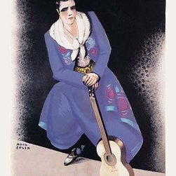 """Buyenlarge.com, Inc. - Carlos Gardel - Fine Art Giclee Print 24"""" x 36"""" - Another high quality vintage art reproduction by Buyenlarge. One of many rare and wonderful images brought forward in time. I hope they bring you pleasure each and every time you look at them."""