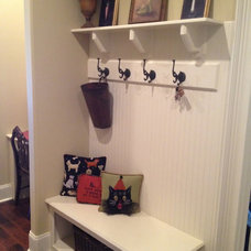 Eclectic Hooks And Hangers by Total Quality Home Builders, Inc.