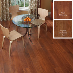None - DIY 12mm Micro Beveled Laminate Flooring (16.22 SF) - These high quality laminate planks provide the rich beautiful look and texture of real hardwood floors at a fraction of the cost.  Installation is quick and easy and virtually maintenance free - perfect for today's busy family.