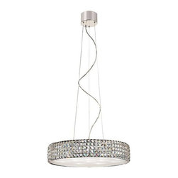 Trans Globe Lighting - Trans Globe Lighting MDN-1167 Pendant Light In Polished Chrome - Part Number: MDN-1167