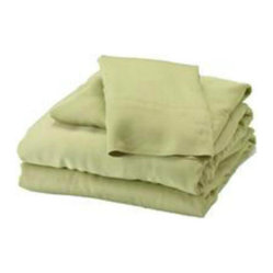 Bamboo Full Sheet Set, Sage
