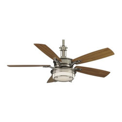 "Fanimation - Fanimation Andover 54"" 5 Blade Ceiling Fan - Blades, Light Kit, and Remote Contr - Included Components:"