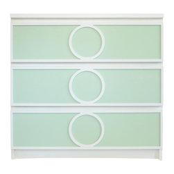 "O'verlays® - O'verlays® Gracie Kit for IKEA Malm 3 Drawer: 8"" x 31.31"" x 1/8""  (3) - O'verlays® Gracie Kit for IKEA® Malm 3 Drawer: 8"" x 31.31"" x 1/8""  (3)"