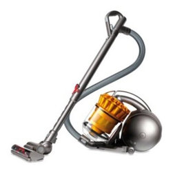 Dyson - Dyson DC39 Multi Floor Canister Vacuum - The DC39 multi floor canister vacuum features Dyson's Radial Root Cyclone technology that reconfigures air channels to reduce turbulence and preserve air pressure, so the inner cyclones can extract more microscopic particles and expel cleaner air.