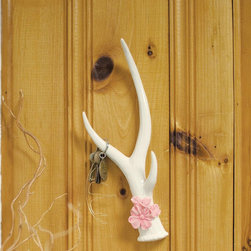 Shed Hunting Wall Hook - This antler hook is the real deal — but don't worry, it was naturally shed from a deer.