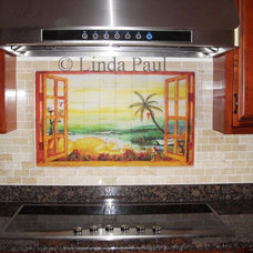 Tropical Tile by Linda Paul