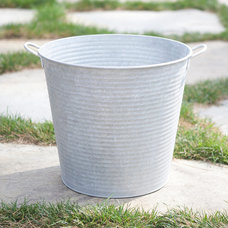 Contemporary Outdoor Pots And Planters by Terrain