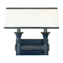 World Imports - World Imports WI236247 Manhattan 2 Light Double Wall Sconce - Features: