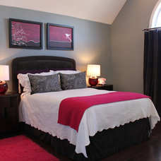 Contemporary Bedroom by Capstone Marble and Granite / Boston