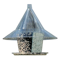 Arundale - Mandarin Sky Cafe with Dividers - Mandarin sky cafe with dividers. The same classic feeder as model ar360 only with a la carte dividers added, offering four gourmet seed compartments instead of one. Variety is the spice of life! Lifetime warranty.