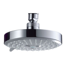 Hansgrohe - Hansgrohe-27495821 Raindance S 150 AIR 3-Jet Showerhead in Brushed Nickel - Hansgrohe-27495821 Raindance S 150 AIR 3-Jet Showerhead in Brushed NickelFrom a simple handshower to a luxurious, oversized showerhead–Hansgrohe has everything you could wish for in a shower. Hansgrohe shower products provide you with the ultimate in design, functionality and quality, leading to performance and styles that will please even the most discerning bather. Rediscover water– as a source of relaxation in a soothing, warm rain shower or with an invigorating whirl-air massage. No matter what you want, you will find countless possibilities for your showering oasis with Hansgrohe.Hansgrohe-27495821 Raindance S 150 AIR 3-Jet Showerhead in Brushed Nickel, Features:• 5-3/8-Inch face diameter• 3 spray patterns: AIR, Whirl AIR, and Balance AIR spray modes• 86 no-clog spray channels• Features Quiclean cleaning system and AIR-injection technology• Requires arm and flange - sold separatelyHansgrohe-27495821 Specification Sheet Hansgrohe Installation Instructions Hansgrohe Limited WarrantyManufacturer: HansgroheModel Number: 27495821Manufacturer Part Number: Hansgrohe 27495821Collection: RaindanceFinish Code: Finish: Brushed NickelUPC: 011097535067This product is also listed under the following Manufacturer Numbers and Finish Codes:Hansgrohe 27495821        HG27495821        27495821Product Category: Bathroom FaucetsProduct Type: Raindance Showerhead