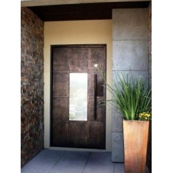 Iron Door Ideas - Beautiful contemporary iron and steel doors