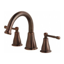 """Danze - Danze® Eastham Roman Tub Faucet Trim Kit - Tumbled Bronze - Danze® products are beautiful inside and out, from our rich, lustrous finishes to our ceramic disc valves with a Drip-Free guarantee to our solid brass waterways. Elegantly curved design complements both traditional and modern baths. Available in multiple finishes. REQUIRES 10"""" CC valve (D210000BT) or Widespread valve (D215000BT). Features High-rise solid brass spout Slip spout mounting Manufacturer's limited """"lifetime"""" warranty ADA Compliant View Spec Sheet"""