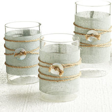 Contemporary Candles And Candle Holders by Wisteria