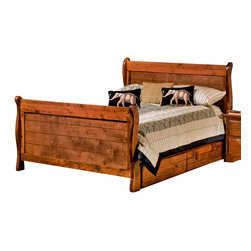 Chelsea Home Furniture - Chelsea Home Full Sleigh Bed with Storage in Cocoa - Providing home elegance in upholstery products such as recliners, stationary upholstery, leather, and accent furniture including chairs, chaises, and benches is the most important part of Chelsea Home Furniture's operations. Bringing high quality, classic and traditional designs that remain fresh for generations to customers' homes is no burden, but a love for hospitality and home beauty. The majority of Chelsea Home Furniture's products are made in the USA, while all are sought after throughout the industry and will remain a staple in home furnishings.