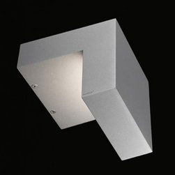 "Nimbus - Nimbus Whisky Soda LED wall light - The Whisky Soda LED wall light was designed and made by Nimbus in Germany. This modern LED fixture is an efficient and elegant lamp which can be a solution to accentuate facades or paths around buildings. The light output of the Whisky Soda LED is distributed 100% indirectly. The fixture has an elegant cast aluminium, titanium grey powder coating housing. Multiples conic identations, ultra-modern LED provide a total power of 18 watts integrated in the luminaire and spread a light output which is equivalent to the power of a 100 watts halogen bulb. The lamp is available in color temperatures of 2700 Kelvin (extra - warm white) 3000K (warm white) and 4000 Kelvin (neutral white). Converter included in the package.         Product Details: The Whisky Soda LED wall light was designed  and made by Nimbus in Germany. This modern LED  fixture is an efficient and  elegant lamp which can be a solution to accentuate facades or paths around buildings. The light output of the Whisky Soda LED is  distributed 100%  indirectly.  The fixture has an elegant cast aluminium, titanium grey powder coating housing. Multiples conic identations, ultra-modern LED provide a total power of 18 watts integrated in the luminaire and spread a light output which is  equivalent to the power of a 100 watts halogen bulb. The lamp is available in color temperatures of 2700 Kelvin (extra - warm white) 3000K (warm white) and 4000 Kelvin (neutral white).   Converter included in the package. Details:                         Manufacturer:            NIMBUS                            Designer:            Nimbus                            Made in:            Germany                            Dimensions:                        Length: 7.3""(186mm) X Height: 7.2""(182mm)                                         Light bulb:                        1x18W build-in LED                                         Material:            Aluminium"