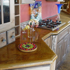 Traditional Kitchen by Advanced Concrete Designs, Inc
