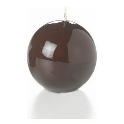 """Neo-Image Candlelight Ltd - Set of 12 - Yummi Gloss Sphere Ball Candles - 16 Colors, Chocolate, 2.8 - Our unscented 2.8"""" High Gloss Sphere Candles are ideal when creating a beautiful candlelight arrangement for the home or wedding decor.  Available in 7 trendy High Gloss candle colors hand over dipped with white core to match and compliment your home decor or wedding centerpiece decoration."""