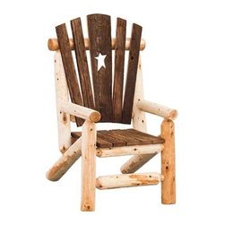 Fifthroom - White Cedar Star Chair -