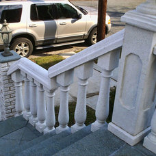 Porch by Coral Cast Architectural Stone