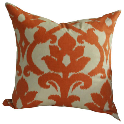 Traditional Decorative Pillows by Flair+Square Pillow+Panel Design
