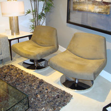 Contemporary Living Room Chairs by CCS Architecture and Interior Design