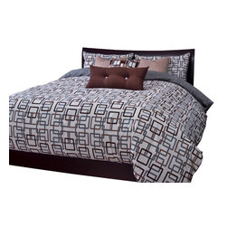 SIS Covers - SIS Covers Edgewater Sand Duvet Set - 6 Piece Full Duvet Set - 5 Piece Twin Duvet Set Duvet 67x88, 1 Std Sham 26x20, 1 16x16 dec pillow, 1 26x14 dec pillow. 6 Piece Full Duvet Set Duvet 86x88, 2 Std Shams 26x20, 1 16x16 dec pillow, 1 26x14 dec pillow. 6 Piece Queen Duvet Set Duvet 94x98, 2 Qn Shams 30x20, 1 16x16 dec pillow, 1 26x14 dec pillow. 6 Piece California King Duvet Set Duvet 104x100, 2 King Shams 36x20, 1 16x16 dec pillow, 1 26x14 dec pillow6 Piece King Duvet Set Duvet 104x98, 2 Kg Shams 36x20, 1 16x16 dec pillow, 1 26x14 dec pillow. Fabric Content 1 70 Polyester 30 Cotton. Guarantee Workmanship and materials for the life of the product. SIScovers cannot be responsible for normal fabric wear, sun damage, or damage caused by misuse. Care instructions Machine Wash. Features Reversible Duvet and Shams.