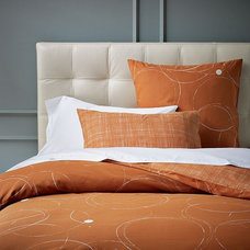 modern bedding by West Elm
