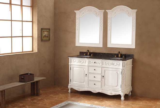 Traditional Bathroom Vanities And Sink Consoles by BathGems