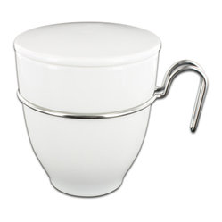 Gemiini Collection Tea Mug with Infuser and Lid