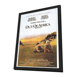 Out of Africa 27 x 40 Movie Poster - Style A - in Deluxe Wood Frame - Out of Africa 27 x 40 Movie Poster - Style A - in Deluxe Wood Frame.  Amazing movie poster, comes ready to hang, 27 x 40 inches poster size, and 29 x 42 inches in total size framed. Cast: Kinyanjui, Stephen