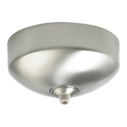 Tech Lighting - FreeJack LED Vaulted Ceiling Surface Canopy 12V - The FreeJack LED Surface Vaulted Canopy mounts to a standard 4 inch junction box with round plaster ring (provided by electrician) for use on vaulted ceilings up to 40 degrees. Available in Satin Nickel, Chrome, Antique Bronze, White or Black finish.  It features one FreeJack port for use with any Freejack 12V LED pendants or heads.  For ceiling or wall.  If mounting to wall, head should be no longer than 6 inches.  Dimmable with low voltage electronic dimmer.  4.5 inch diameter x 2.3 inches high.  ETL listed.