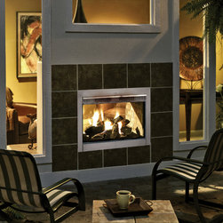 Heat & Glo - Traditional Style - Direct Vent Fireplaces - Twilight II (Outdoor Side) shown with