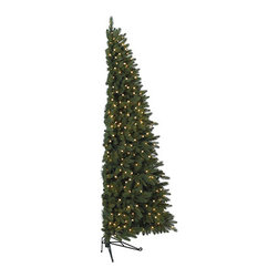 Balsam Hill Fifth Avenue Flatback Artificial Christmas Tree - SAVE SPACE WITH BALSAM HILL'S FIFTH AVENUE FLATBACK TREE |