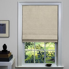 contemporary roman blinds by The Shade Store