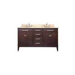 Avanity Madison 60 In. Vanity - The Madison Collection combines function with style.