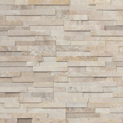 Realstone Systems Latte Honed Collection Series - The Realstone Systems Collection is an exclusive sampling of some of the most beautiful natural stone in the world with color and pattern combinations only available from Realstone Systems. Each piece is hand made to the exacting standards and attention to detail, which Realstone is known for. The exclusive new line of luxury thin stone veneer panels, corners, ends, hearths and tiles is available in marble, travertine, sandstone and limestone.
