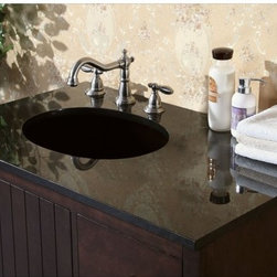 Legion Furniture - Legion Furniture 37W x 22D in. Fremont Stone Vanity Top Multicolor - LGN404 - Shop for Bathroom Counter Tops from Hayneedle.com! Clean-lined and coolly veined the Legion Furniture 37W x 22D in. Fremont Stone Vanity Top is a must for modern bathrooms. Crafted with a slab of -inch thick squared-edge granite in your choice of absolute black or Egypt beige marble this luxurious countertop will correlate with your existing bathroom decor nicely. Vanity top features an oval sink cutout and three pre-drilled faucet holes for an 8-inch spread. About Legion FurnitureLegion Furniture is a Sacramento California-based company that specializes in commercial and residential furniture. The company offers thousands of items all made by expert craftsmen. Their product lines incorporate a wide variety of styles to address the needs of every designer. From contemporary vanities to traditional barstools Legion Furniture can outfit your home in the style of your dreams.