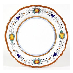 Artistica - Hand Made in Italy - FRUTTINA LITE: Charger Plate (Simple Decor - SIM) - FRUTTINA Collection