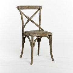 traditional dining chairs and benches by Candelabra