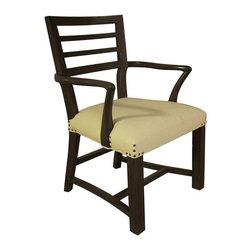 NOIR - NOIR Furniture - Raven Arm Chair in Pale - GCHA188AP - Features: