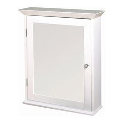 Zenith - Classic White Swing Door Medicine Cabinet - W - Manufacturer SKU: WW2026. Bath Storage ...