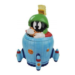 Westland - 11.5 Inch Marvin The Martian Holding Cookies in Spaceship Cookie Jar - This gorgeous 11.5 Inch Marvin The Martian Holding Cookies in Spaceship Cookie Jar has the finest details and highest quality you will find anywhere! 11.5 Inch Marvin The Martian Holding Cookies in Spaceship Cookie Jar is truly remarkable.