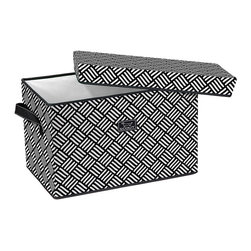 SCOUT by Bungalow - Quick Ship! Rump Roost Large Storage Box with Lid - Weaver Fever - Rump Roost Large Storage Box with Lid Weaver Fever