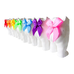 ESW² - Set of 7 RainBow Tushiez™ Multicolor Display Collectibles - Time to get a little creative. This set of seven small ceramic doll halves will inspire countless uses, including candy dish, paper clip holder and planter. An adorable way for you to stay organized.