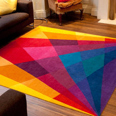 Eclectic Area Rugs by Sonya Winner Vibrant Contemporary Rugs