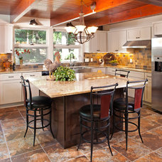 Transitional Kitchen by Bob Michels Construction, Inc.