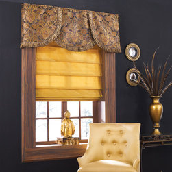 Blindsgalore - Blindsgalore Board Mounted Valances: Elegance - The Elegance Board Mounted Valance is a classic multiple-piece valance designed to richly complement shades, blinds and drapery.