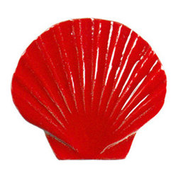 Glass Tile Oasis - Seashell Pool Accents Red Pool Glossy Ceramic - We offer six lines of in-stock designs ready for immediate delivery including: The Aquatic Line, The Shadow Line, The Hang 10 Line, The Medallion Line, The Garden Line and The Peanuts Line. All of the mosaics are frost proof, maintenance free and guaranteed for life. Our Aquatic Line includes: mosaic dolphins, mosaic turtles, mosaic tropical and sport fish, mosaic crabs and lobsters, mosaic mermaids, and other mosaic sea creatures such as starfish, octopus, sandollars, sailfish, marlin and sharks. For added three dimensional realism, the Shadow Line must be seen to be believed. Our Garden Line features mosaic geckos, mosaic hibiscus, mosaic palm tree, mosaic sun, mosaic parrot and many more. Put Snoopy and the gang in your pool or bathroom with the Peanuts Line. Hang Ten line is a beach and surfing themed line featuring mosaic flip flops, mosaic bikini, mosaic board shorts, mosaic footprints and much more. Select the centerpiece of your new pool from the Medallion Line featuring classic design elements such as Greek key and wave elements in elegant medallion mosaic designs.